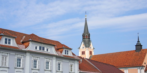GLEISDORF ( Oststeiermark ) - Stadtpanorama