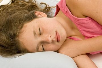 Little Girl Sound Asleep