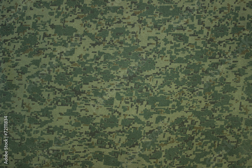 Tuinposter Textures Military camouflage textile