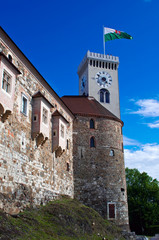 Castle in Ljubljana, Slovenia