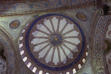Main dome of Blue mosque