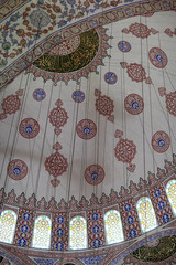 View dome of Blue mosque