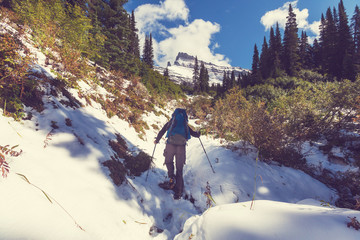 Hike in Glacier