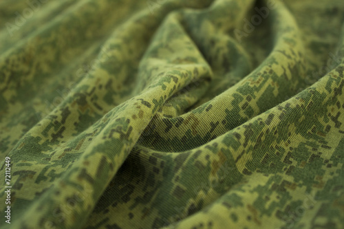 Plexiglas Textures Military wrinkled camouflage fabric