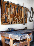 old workbench poster