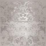 Fototapety background silver pattern