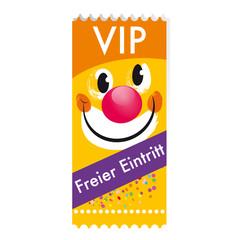 Ticket freier Eintritt
