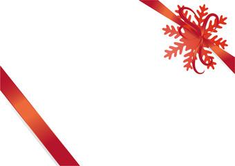 Rote Schleife Weihnachten