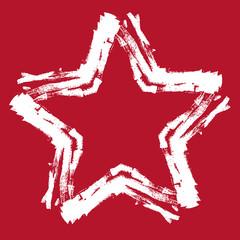 Hintergrund Stern rot