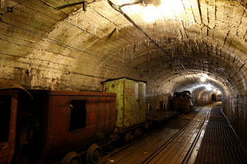 old oil shale mine
