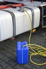 LKW Diesel diebstahl