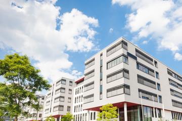 modernes Haus in Deutschland - Bürogebäude