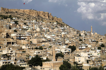 city view from Mardin
