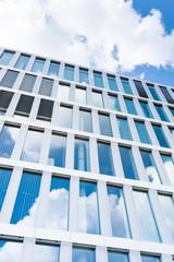 modernes Bürogebäude in Frankfurt