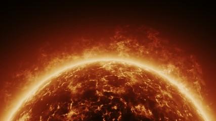 Sonnen Atmosphäre, animiert