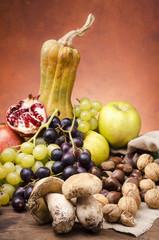 still life frutti autunnali