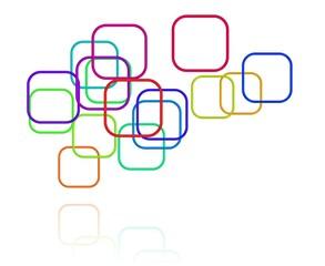 Themen oder Anwendungen - symbolisch