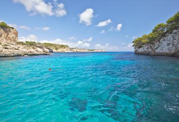 Sea cove. Majorca, Balearic Islands.Spain.