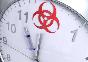 Biohazard countdown