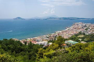 View of Pozzuoli, Naples.