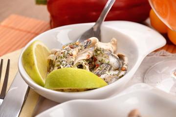 ACCIUGHE MARINATE - Marinated anchovies