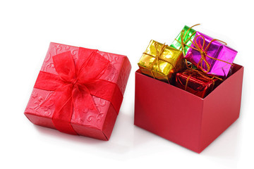 Red gift.