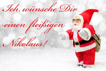 fleißiger Nikolaus
