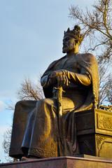 Amir Timur (Tamerlane) statue in Samarkand,Uzbekistan