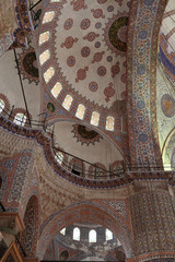Details dome of Sultan Ahmed Mosque