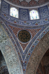 Details arch of Blue mosque