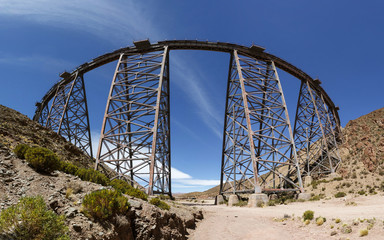 Train de los nubes bridge, Salta, Argentina