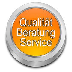 Qualität Beratung Service Button