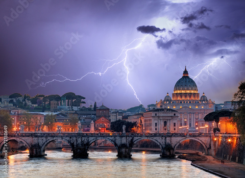 Foto op Canvas Rome Vatican, Rome