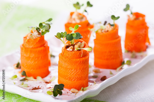 Carrot Roll-Ups - 72130841