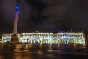 Winter Palace in St Petersburg Russia
