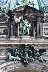 Berlin Cathedral (Berliner Dom)  - fragment.