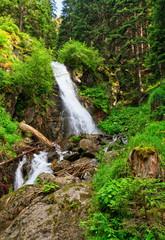 Trentino, Val di Sole - Waterfall in Vermiglio