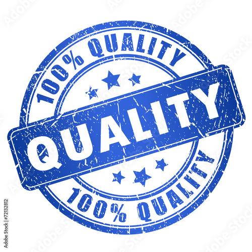 Zdjęcia na płótnie, fototapety, obrazy : Quality stamp