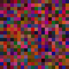 Dark background with squares. Raster.