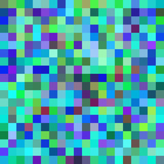 Background with squares of different colors. Raster.
