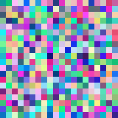 Background with blue squares. Raster.
