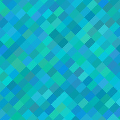 Background with blue rectangles at an angle. Raster.