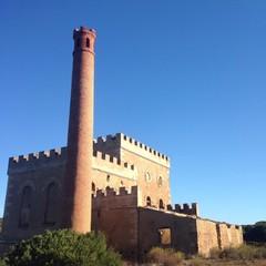 castle mine dwell in sardinia italy