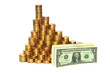 Рост курса доллара