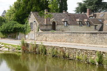 France, the picturesque village of  marcq