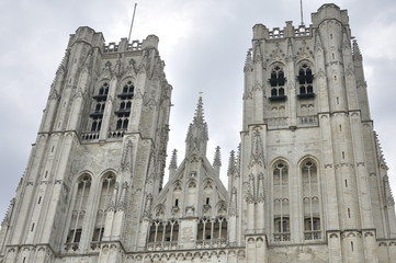 Saint Michael and Gudula Cathedral in Brussels