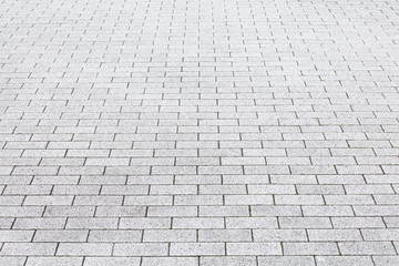 Close - up street cement block floor background