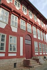 Gandersheim: Typisches Fachwerkhaus (Niedersachsen)