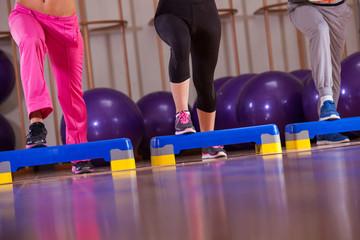 fitness step