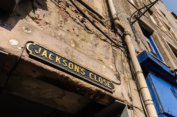 Jackson's Close